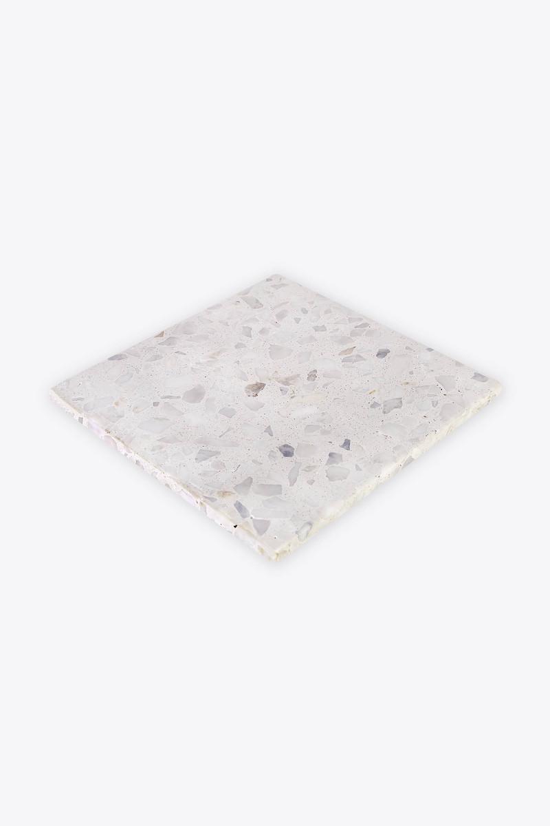 White Terrazzo Trivet 2915 White 3