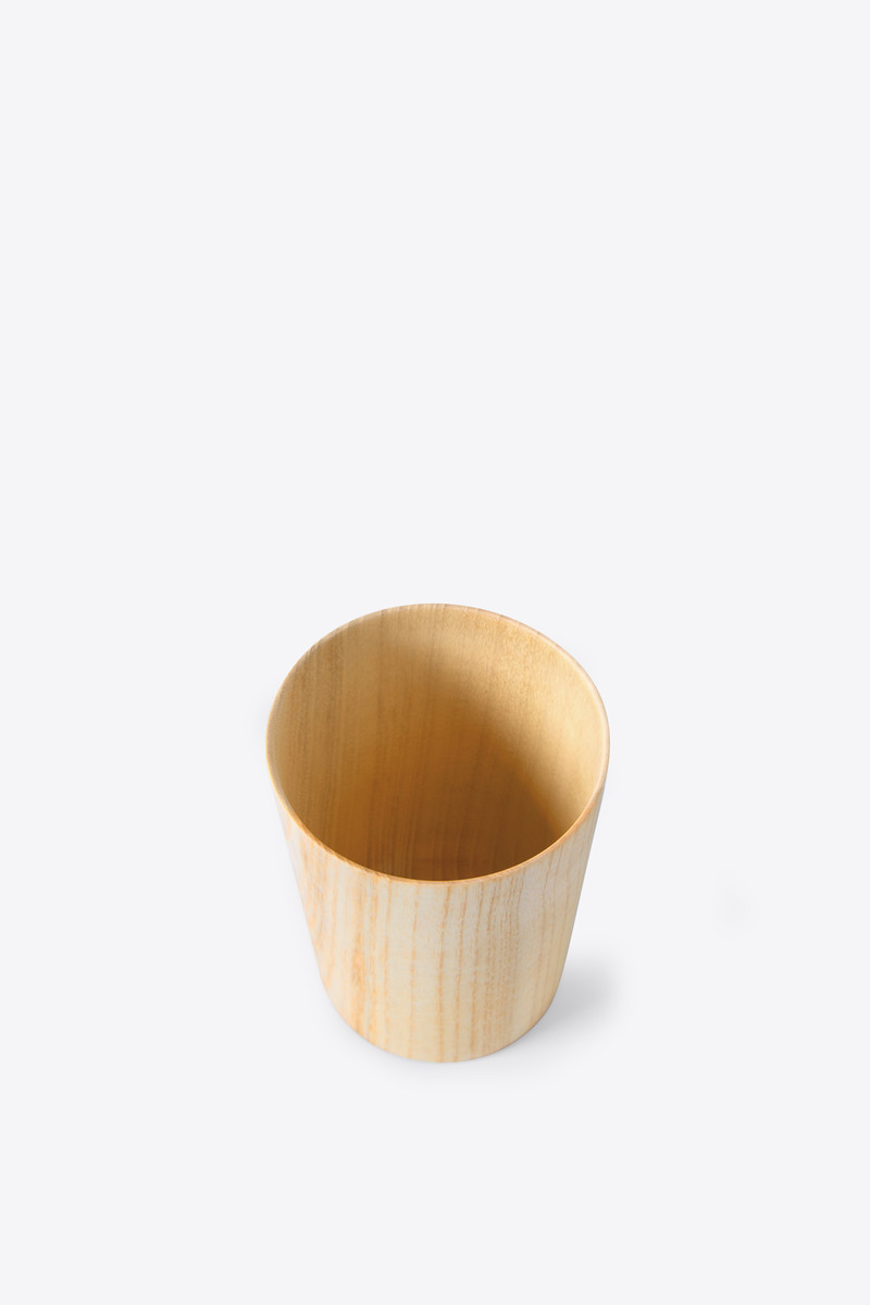 Wooden Cup 2945 Brown 3
