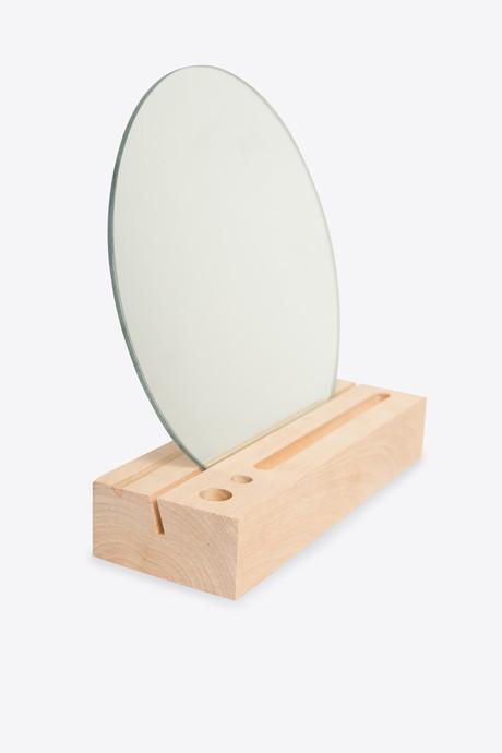 Wooden Mirror Stand 2901 Beige 3