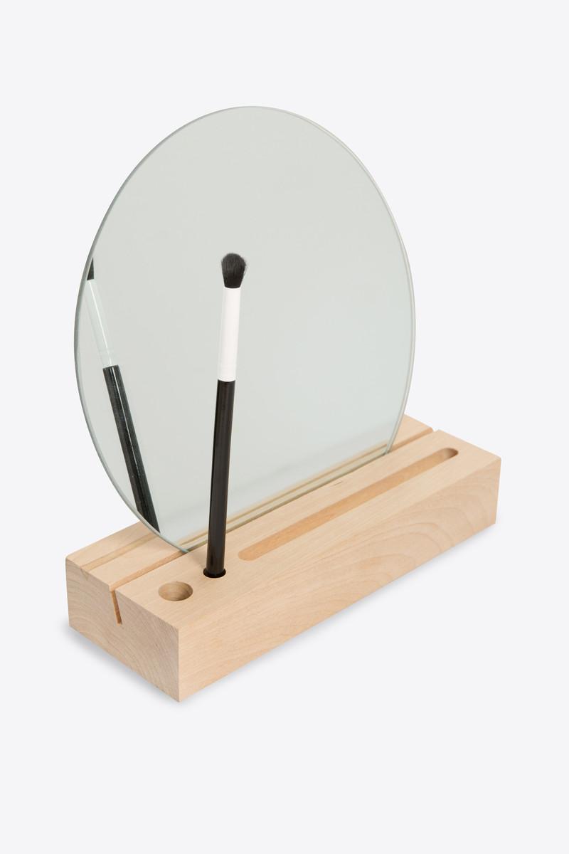 Wooden Mirror Stand 2901 Beige 4