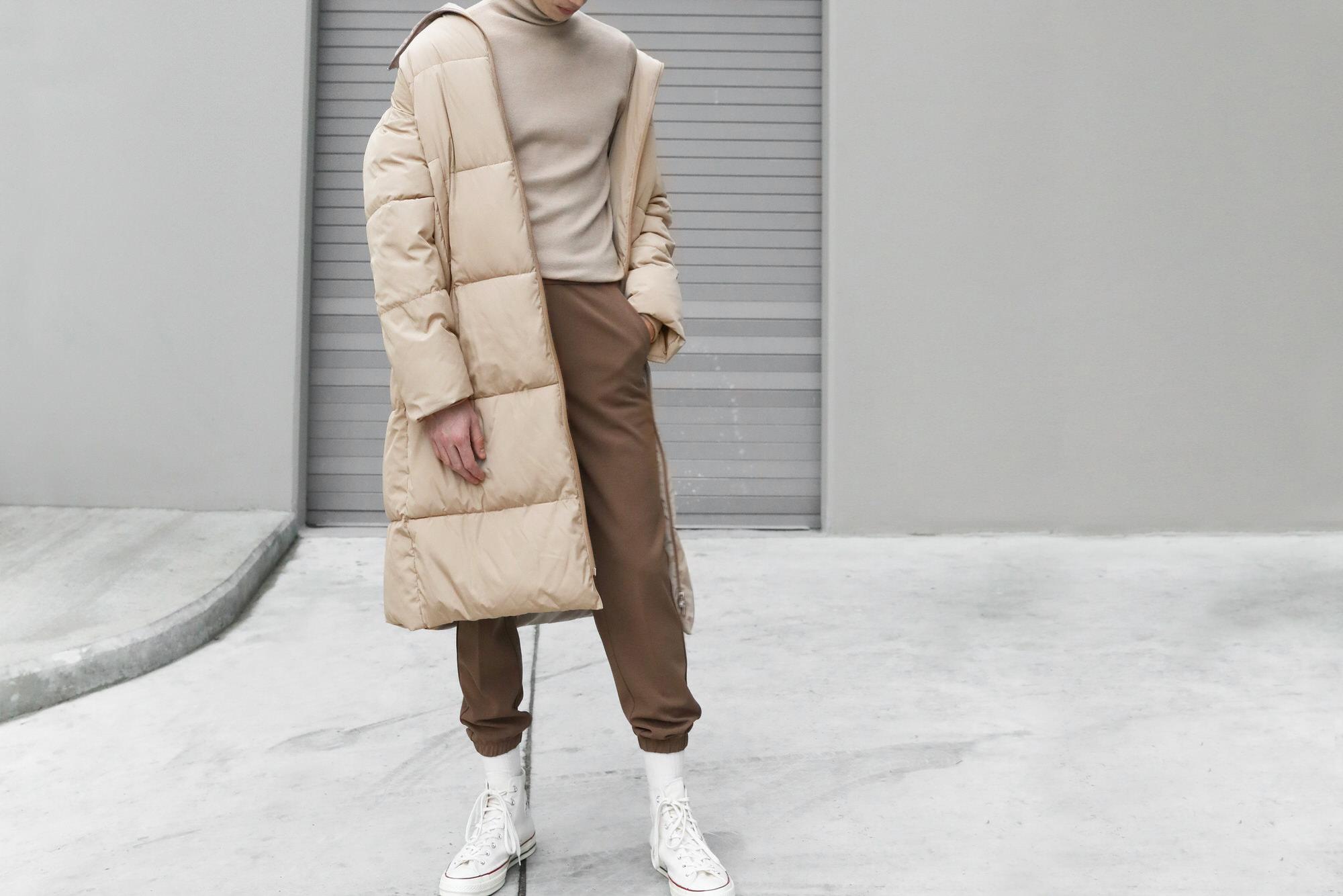 Mens oversized puffer jacket