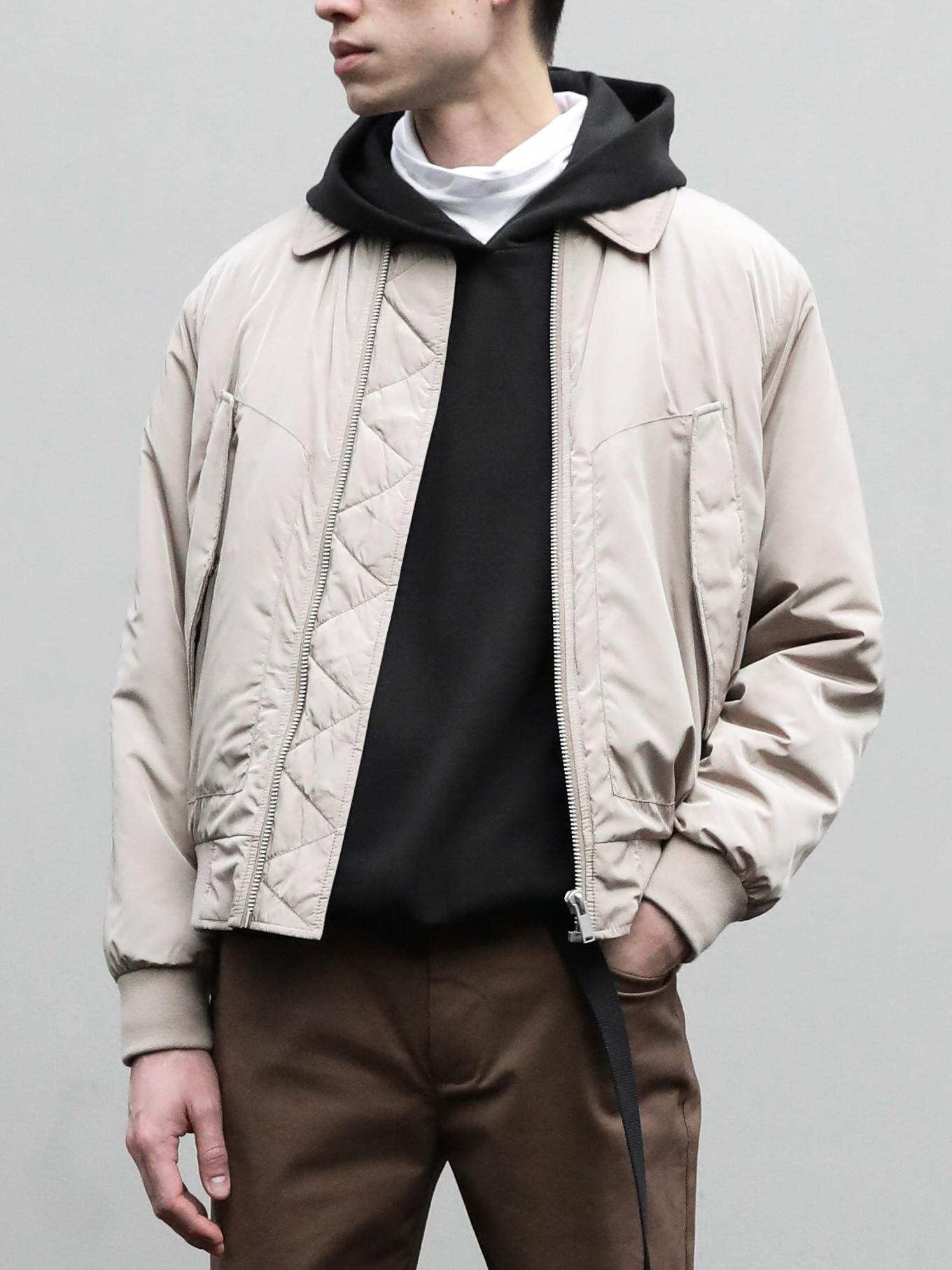 Mens basic jacket 2657 minimal casual clothing