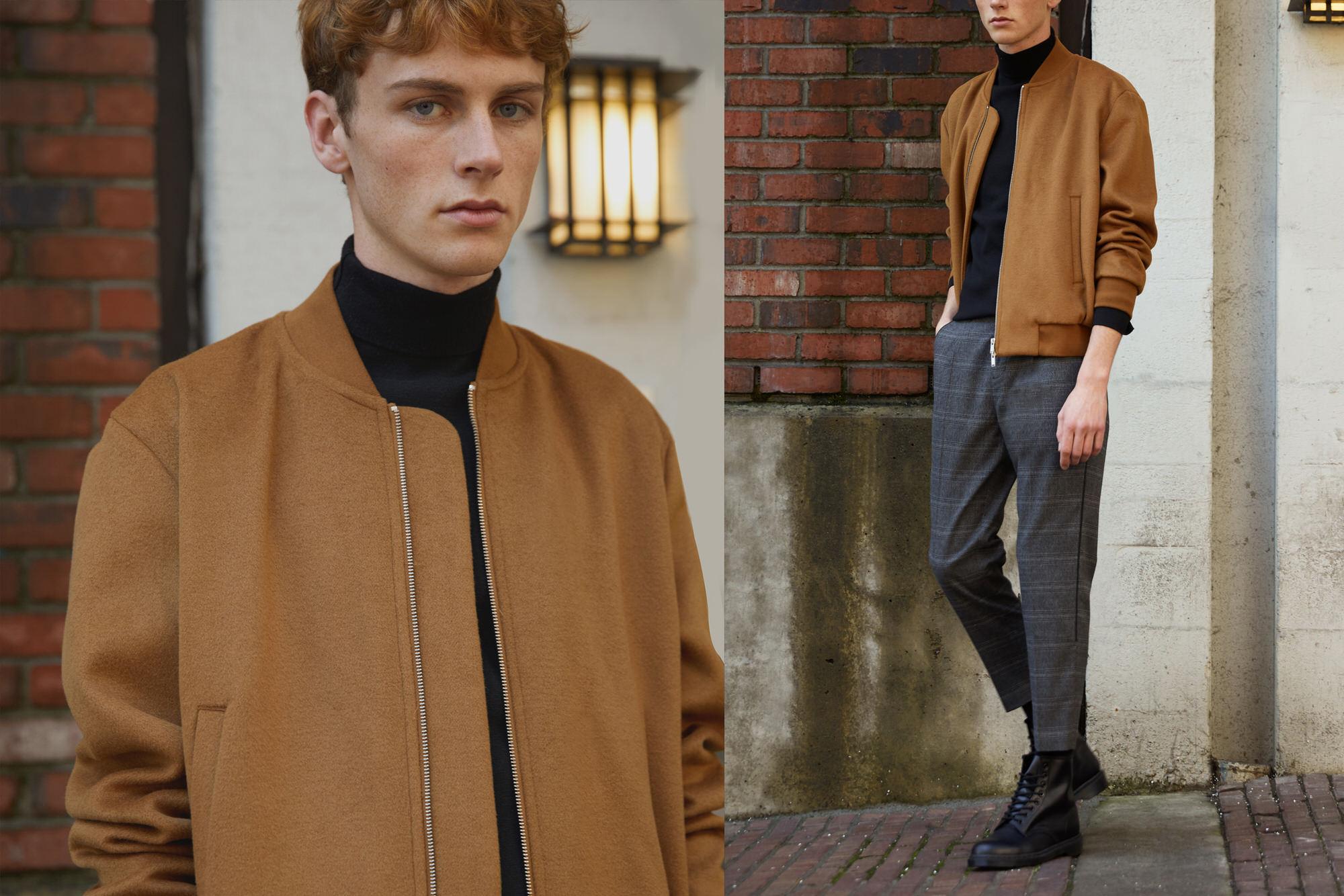 Mens casual wear jacket