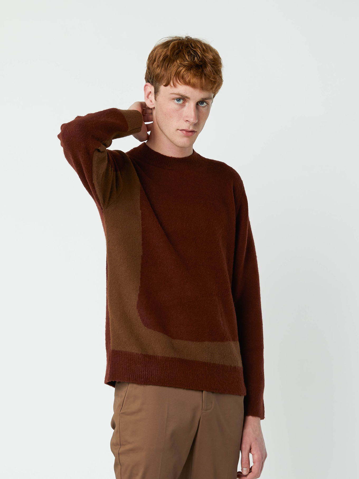 Mens sweater basic casual everyday clothing
